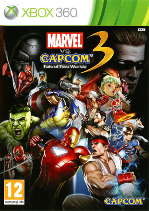 Marvel vs. Capcom 3 : Fate of Two Worlds sur 360