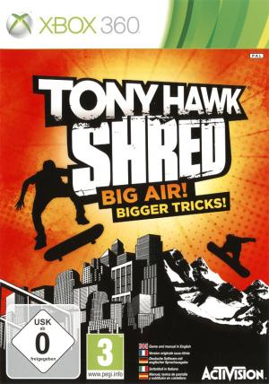 Tony Hawk Shred sur 360