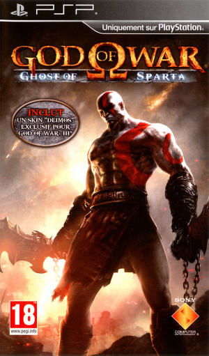 God of War : Ghost of Sparta sur PSP