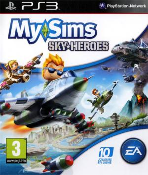 MySims SkyHeroes sur PS3