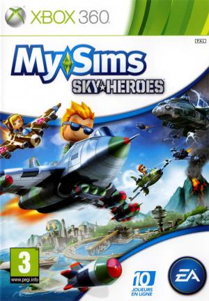 MySims SkyHeroes sur 360