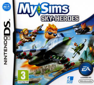 MySims SkyHeroes sur DS