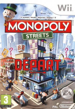 Monopoly Streets sur Wii