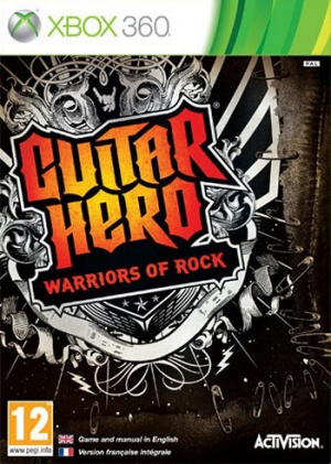 Guitar Hero : Warriors of Rock sur 360