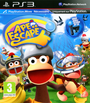 Ape Escape sur PS3