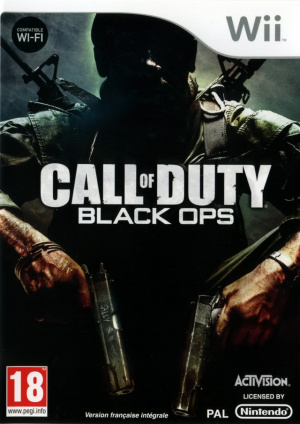 Call of Duty : Black Ops sur Wii