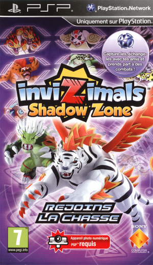 Invizimals : Shadow Zone sur PSP