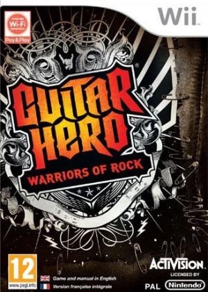 Guitar Hero : Warriors of Rock sur Wii
