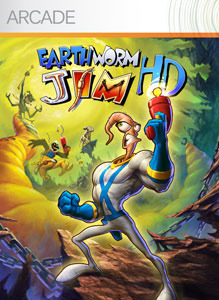 Earthworm Jim HD sur 360