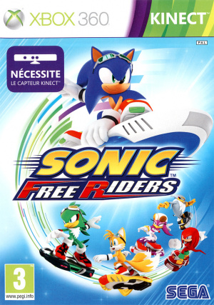 Sonic Free Riders sur 360