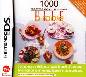 1000 Recettes de Cuisine avec ELLE à Table