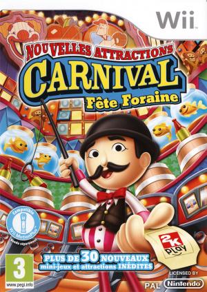 Carnival : Fête Foraine : Nouvelles Attractions sur Wii
