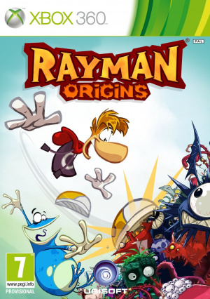 Une jaquette pour Rayman Origins
