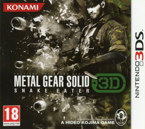 Metal Gear Solid : Snake Eater 3D sur 3DS