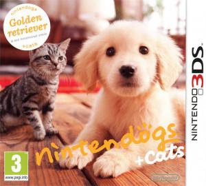 Nintendogs + Cats : Golden Retriever & ses Nouveaux Amis.EUR.3DS-CONTRAST