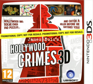 James Noir's Hollywood Crimes sur 3DS