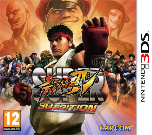 Super Street Fighter IV 3D Edition sur 3DS