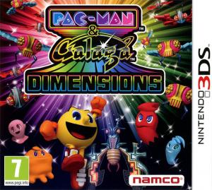 Pac-Man & Galaga Dimensions sur 3DS