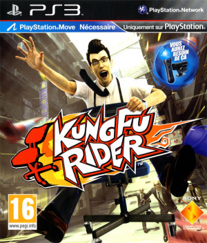 Kung Fu Rider sur PS3