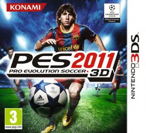 Pro Evolution Soccer 2011 3D sur 3DS