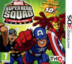 Marvel Super Hero Squad : Le Gant de l'Infini sur 3DS