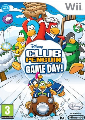 Club Penguin Game Day! sur Wii