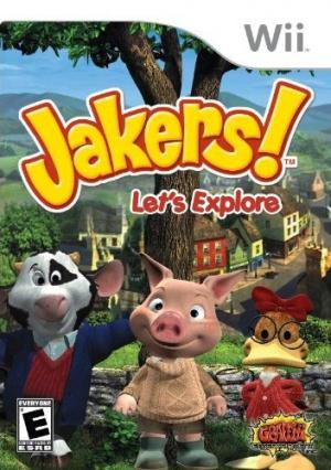 Jakers !  Lets Explore sur Wii
