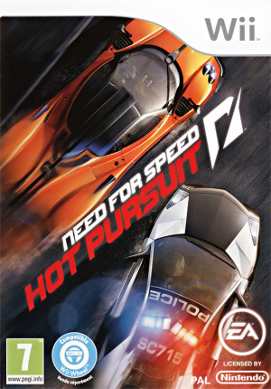 Need for Speed : Hot Pursuit sur Wii
