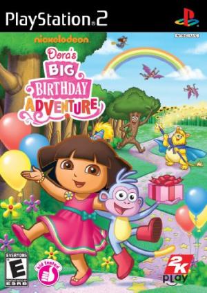 Dora l'Exploratrice : Joyeux Anniversaire sur PS2