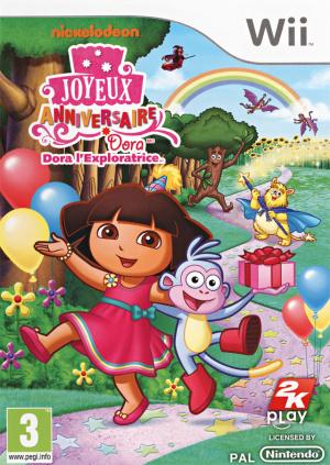 Dora l'Exploratrice : Joyeux Anniversaire sur Wii