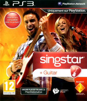 Singstar Guitar sur PS3