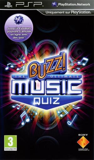 Buzz ! : The Ultimate Music Quiz sur PSP