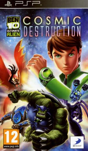 Ben 10 Ultimate Alien : Cosmic Destruction sur PSP