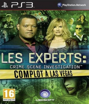 Les Experts : Complot à Las Vegas sur PS3