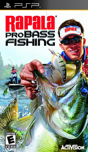 Rapala Pro Bass Fishing sur PSP