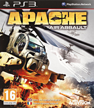 Apache : Air Assault sur PS3
