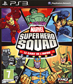 Marvel Super Hero Squad : Le Gant de l'Infini sur PS3