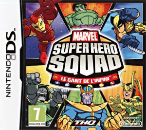 Marvel Super Hero Squad : Le Gant de l'Infini sur DS