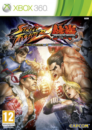 Street Fighter X Tekken sur 360