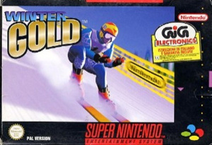 Winter Gold sur SNES