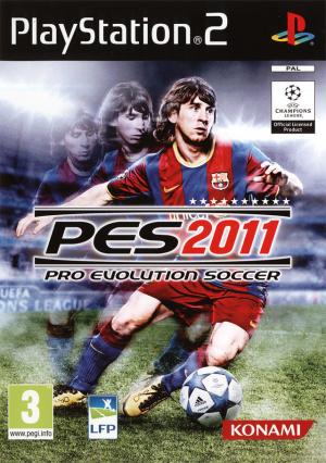 Pro Evolution Soccer 2011 sur PS2
