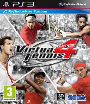 Virtua Tennis 4 sur PS3