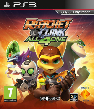 Ratchet & Clank : All 4 One sur PS3