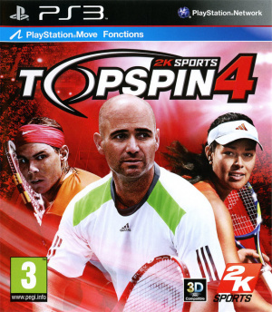 Top Spin 4 sur PS3