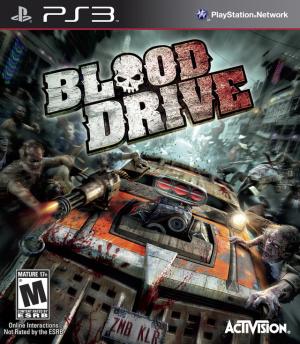 Blood Drive sur PS3