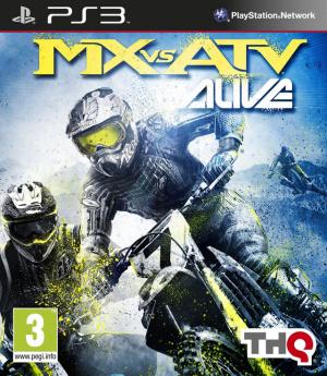MX vs ATV Alive sur PS3