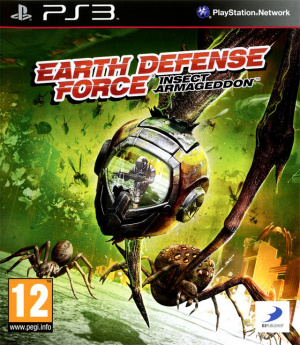 Earth Defense Force : Insect Armageddon sur PS3