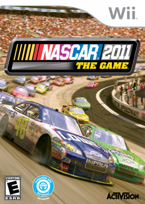 NASCAR The Game 2011 sur Wii