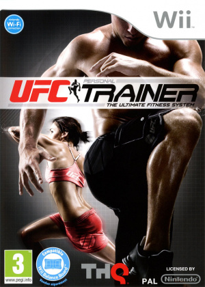 UFC Personal Trainer : The Ultimate Fitness System sur Wii