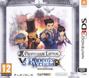 Professeur Layton vs Phoenix Wright : Ace Attorney.3DS-VENOM